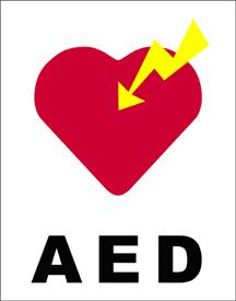 図1.AEDマーク