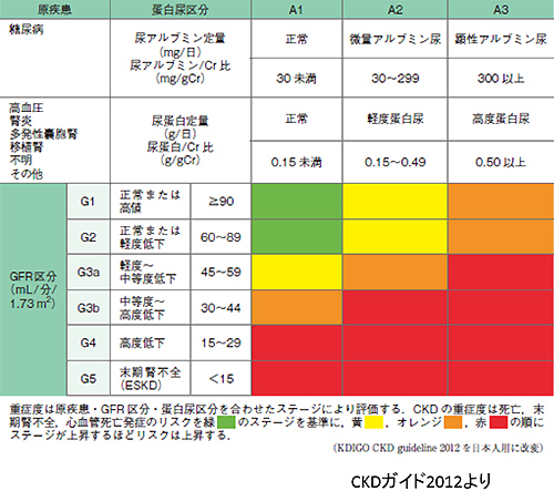 慢性腎臓病 図1