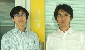 左:筆者、右:湯浅 慎介(循環器内科 学部内専任講師)