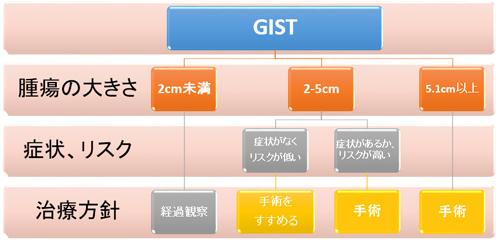 図5.GISTの治療(手術)