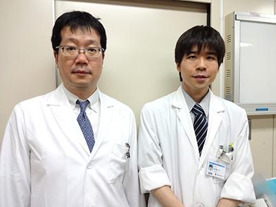 左:伊東大介(内科学(神経) 教室専任講師)、右:筆者