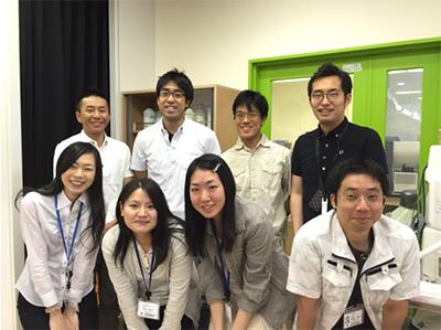 後列左から2番目:筆者、一番右:田久保圭誉(国立国際医療研究センター研究所生体恒常性プロジェクト長)