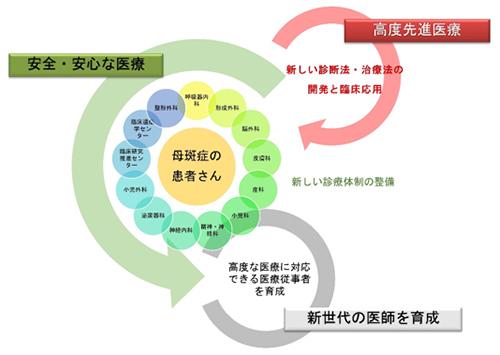 図1. 慶應義塾大学病院母斑症センター