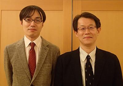 左:筆頭著者・春日義史(現所属:川崎市立川崎病院産婦人科)、右:筆者