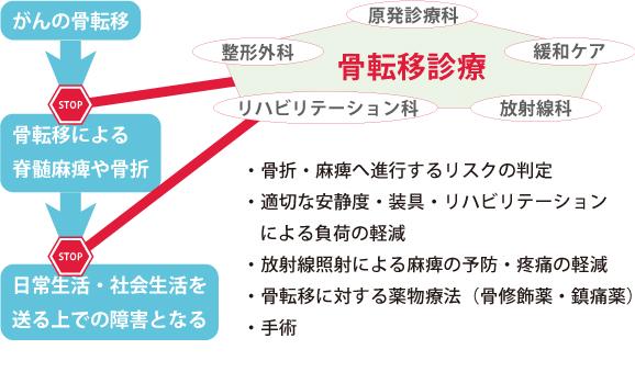 図1. 骨転移の診療体制