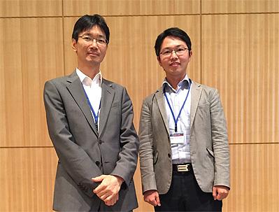 左:藤田淳(循環器内科特任准教授)、右:遠山周吾(同特任講師)