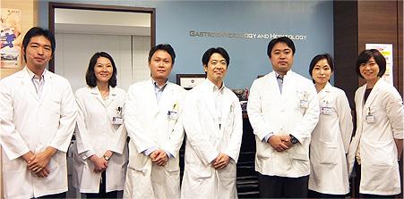 消化器内科肝臓チーム
