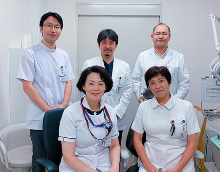 アレルギーセンター内耳鼻咽喉科スタッフ