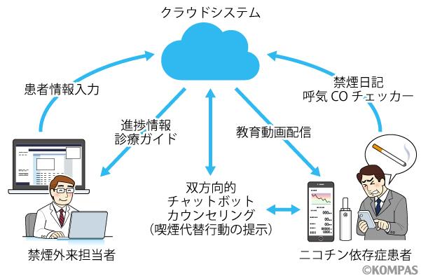 図2. CureApp SC®システムの概要